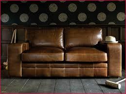 canapé marron cuir canapé marron vieilli 110777 canape cuir bois rustique archives