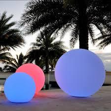 floating pool ball lights publiclight led illuminated all in 1 orb light floating pool ball