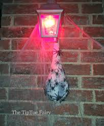party city outdoor halloween decorations creepy spider egg sac the tiptoe fairy