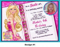 barbie birthday invitation wording first birthday invitation