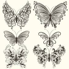 butterfly decorative vectors photos and psd files free