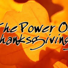 power of thanksgiving sermons sermon