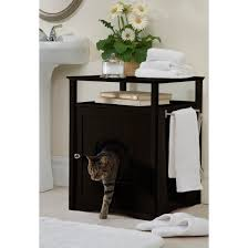 litter box end table hidden litter box bathroom and bedroom cabinet end table furniture
