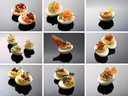 9 in your face deviled egg variations serious eats
