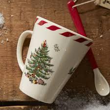 Tree Mug Spode Tree Peppermint Mug With Spoon Reviews Wayfair