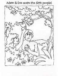 adam and eve coloring pages for kids at best all coloring pages tips