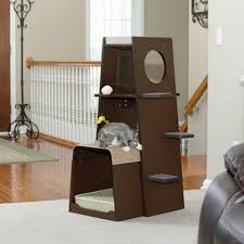 Modern Cat Trees Furniture by Best Designer Cat Tree Furniture Modern U0026 Stylish Fluffy Kitty
