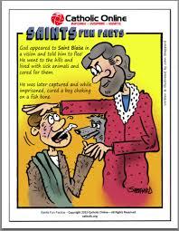 catholic shop online saints facts st blaise blaise saints and catholic