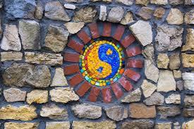 free photo mosaic ornaments religion jing jang max pixel