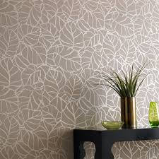 graham and brown superfresco vine wallpaper in mocha reno