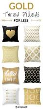 Lumbar Pillows For Sofa by Decor Astonishing Gold Throw Pillows For Home Accessories Ideas