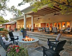 stylish covered back patio ideas garden decors