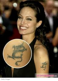 pictures angelina jolie tattoos angelina jolie upper arm tattoo