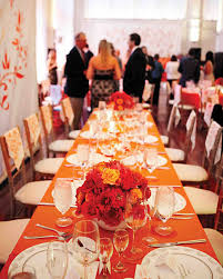 a whimsical orange and red wedding in st louis martha