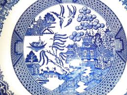 of hearts history of blue willow china