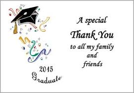 graduation thank you notes exles of thank you notes for high school graduation style by