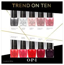 nails by jema opi trend on ten 2014 holiday gift set