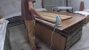 customiser une porte de chambre tutoriel rénovation d une porte avec du placage