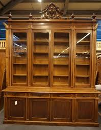 French Antique Bookcase Zz1955 Bibliotheque