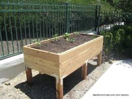 Garden Box Ideas Build Raised Garden Box Raised Garden Beds How To Build Raised