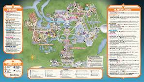 Walt Disney World Map Pdf by Travel And Hotel Information Online Learning Consortium Inc