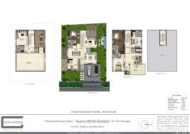 Stilt House Floor Plans Hyderabad East Facing Vastu Complaint Duplex Villas Houses