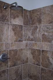 walk in door less tiled shower before u0026 after photos u2013 with