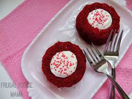 frugal foodie mama red velvet molten cakes