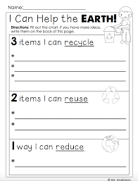freebie earth day printables