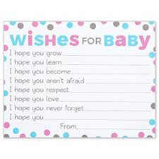 wishes for baby cards pink and blue polka dots