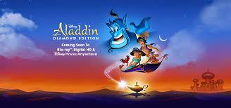 rediscover magic disney u0027s aladdin blu ray digital hd
