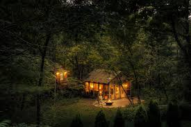 small cabin in the woods candlewood