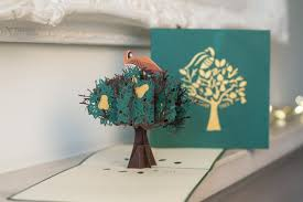 Tree Pop Up Partridge In A Pear Tree Pop Up Card Cardology
