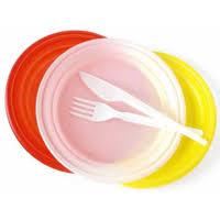 piatti e bicchieri di plastica colorati piatti di plastica e posate per il tuo ufficio in offerta