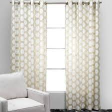 Beige And White Curtains White And Beige Panels