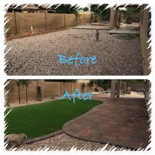 yard remodel archives arizona living landscape design backyard