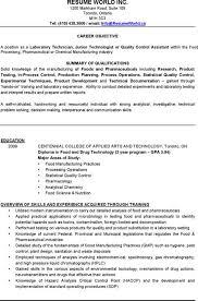 Sample Resume For Microbiologist 81 Breathtaking Resume Format Examples Of Resumes Us Format