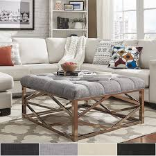 Oversized Ottoman Coffee Table Best 25 Square Ottoman Coffee Table Ideas On Pinterest Square