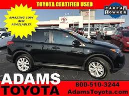 toyota suv used used toyota suvs for sale with photos carfax