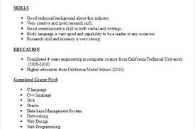 Internship Resume Samples For Computer Science by Dietetic Intern Resume Sample Reentrycorps