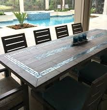 Table Top Ideas Tile Top Table Tile Top Outdoor Dining Table Best Ideas