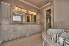interesting decorating ideas using rectangular brown wooden vanity