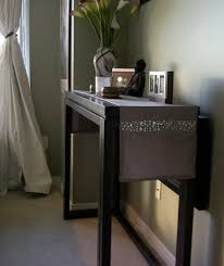 console table used as dining table sofa table that converts to a dining table 6970 console tables