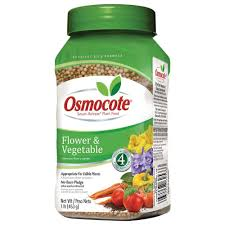 osmocote 1 lb flower and vegetable plant food 277160 the home depot