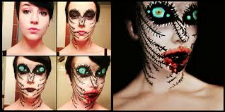 Professional Theatrical Makeup Terrifying Makeup By Stephanie Fernandez