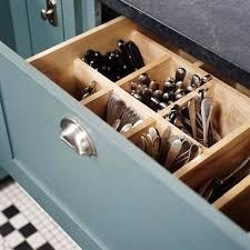 Kitchen Drawer Organizers Modular Drawer Organizers Lipper - Kitchen cabinet drawer dividers