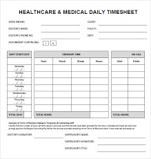 Daily Timesheet Template Excel Sle Sheet 7 Documents In Pdf Doc Excel