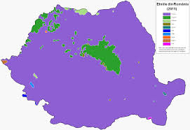 Map Of Romania Ethnic Map Of Romania 1490 X 1023 Mapporn