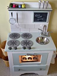 diy play kitchen ideas from nightstand to play kitchen projects to try