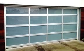 Price Overhead Door Glass Garage Doors Cost Modern Glass Garage Doors Cost Medium Size
